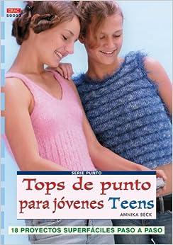 Tops De Punto Para Jovenes Teens: Unknown: 9788496777095