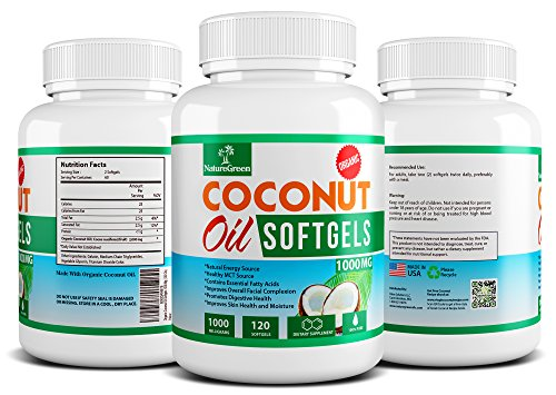 Coconut oil softgels benefits