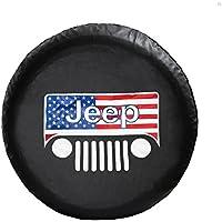 "Amooca JEEP WRANGLER,LIBERTY Spare Tire Cover TJ,JK Wrangler, KJ Liberty 30""-31"""