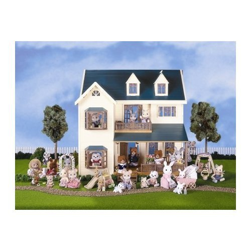 Calico Critters Deluxe Village Doll House