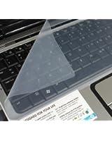 Universal silicone film de clavier protecteur pour ordinateurs portables de 15pouces, 15,6pouces, 16pouces, 16,4pouces, 17pouces, 17,1pouces, 17,3 pouces
