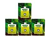 #4: Khadi Herbal Black Henna - Pack of 4 - Natural Kali Mehendi - Enriched with Amla