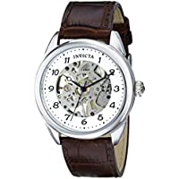 Invicta 17187 Specialty Analog Display Mechanical Hand Wind Brown Men's Watch