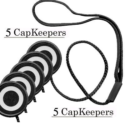 5 LENS CAP LEASH! LENS CAP HOLDER/SAFETY CORD FOR SONY CANON NIKON OLYMPUS PENTAX LENS CAP, SAVE!!! $$$