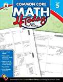 img - for Common Core Math 4 Today, Grade 5 (Common Core 4 Today) book / textbook / text book