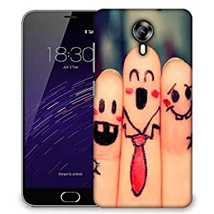 Snoogg beautiful finger painting Designer Protective Back Case Cover For Meizu M2
