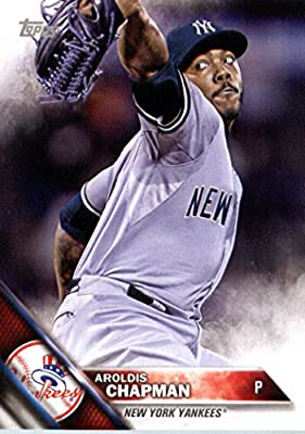 2016 Topps Team Edition #NYY-16 Aroldis Chapman New York Yankees Baseball Card-MINT