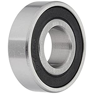 Ten (10) 6203-2RS Sealed Bearings 17x40x12 Ball Bearing / Pre-Lubricated