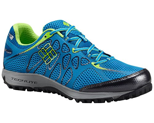 Columbia Men's Conspiracy Titanium OutDry Trail Outdoor Sneakers, Blue Mesh, 9 M