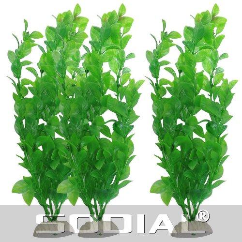 toogoo r 3 x plante artificielle en plastique pour. Black Bedroom Furniture Sets. Home Design Ideas
