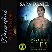 Psychic Lies: Wiccan Haus, Book 5 Audiobook by Sara Daniel Narrated by Hollie Jackson