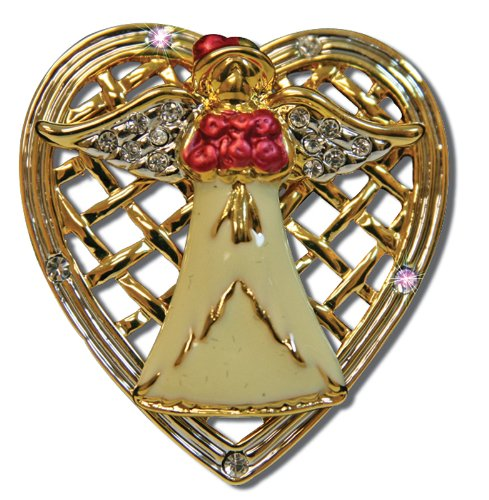 Mother Angel Pin Jewelry Brooch