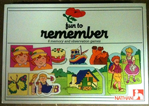Nathan Fun to Remember 6 Memory and Observation Games