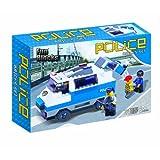 Fun Blocks (Compatible With Lego) Police Building Blocks Set D (221 Pieces)