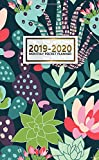 2019-2020 Monthly Pocket Planner: Two-Year Cactus Bonanza Monthly Pocket Planner with Phone Book, Password Log and Notebook. Nifty Succulent 24 Month Agenda, Diary and Organizer.