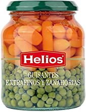 Helios Guisantes Extrafinos y Zanahorias - 340 gr