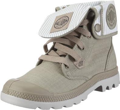 Amazon.com: Palladium Baggy Lite Casual Boots Gray Womens: Shoes