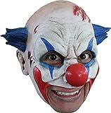 Insane Circus Clown Scary Latex Adult Halloween Costume Mask