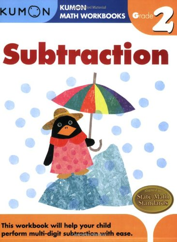 Grade 2 Subtraction (Kumon Math Workbooks) PDF