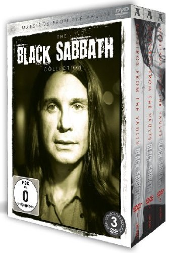 The Black Sabbath Collection Maestros from the Vaults Box Set [3 DVD] [Edizione: Regno Unito]