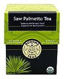 Saw Palmetto Tea - Organic Herbs - 18 Sachets Bleach Free Tea Bags From Buddha Teas