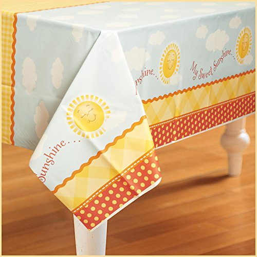 Birthday Express - Little Sunshine Party Plastic Tablecover