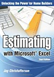 Estimating with Microsoft Excel, 3rd Edition - 086718647X