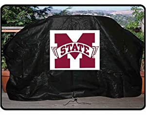 Buy NCAA Mississippi State Bulldogs 68-Inch Grill Cover by Seasonal Designs