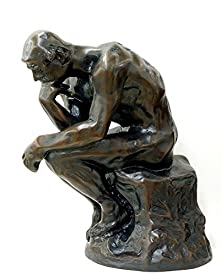 オーギュスト・ロダン『考える人』ブロンズ像