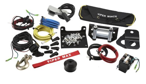 VIPER-MAX-4000lb-UTV-Wide-Spool-Winch-with-65-of-Steel-Cable