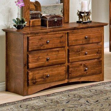 Natural Pine Dresser front-804920