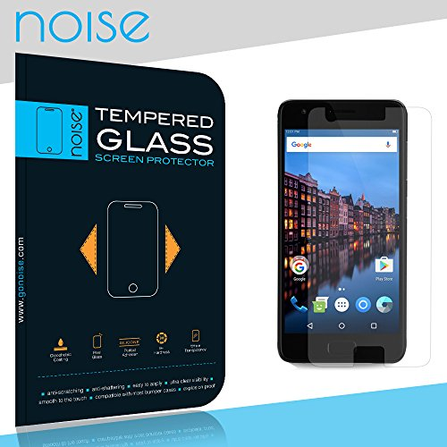 Noise Tempered Glass Screen protector For Lenovo Z2 Plus with 2.5D Curved Edge, 9H Hardness, Ultra Thin (Combo Deal) (1 Pack)  available at amazon for Rs.139