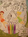 Disney Fairies Tinkerbell Dress Up Dolls & Coloring Kit by Magnix ~ Magnically Magnetic