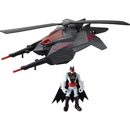 Batman - Y1253 - Figurine - Batman et sa Batcopter