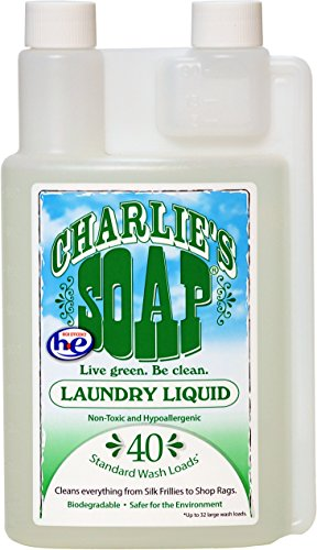 Charlie's Soap Laundry Liquid 40-load, 32 fl. oz., 2-Count