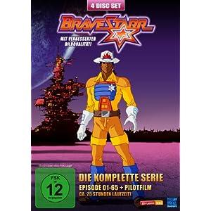 Bravestarr - Die komplette Serie, Episoden 1-65 + Pilotfilm [4 DVDs]