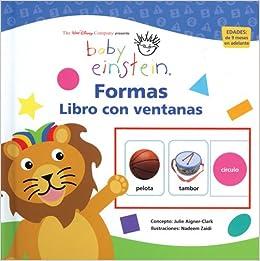 Amazon.com: Baby Einstein: Libro con ventanas: Formas: Baby Einstein