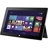 Microsoft Surface 64GB Tablet (Dark Titanium) with Black Touch Cover