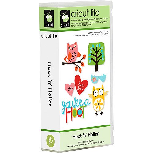 Cricut Lite Cartridge - Hoot 'n' Holler