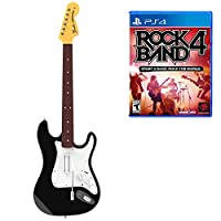 Rock Band 4 Wireless Fender Stratocaster Guitar Controller and Software Bundle for  PlayStation 4 - Wireless Fender Stratocaster Edition