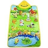 Coromose Music Sound Farm Animal Kids Baby Play Playing Mat Carpet Playmat Gym Toy