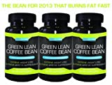 Green Lean Coffee Bean | 3 Month Supply (Buy 2 get 1 Free) | Thermogenic Green Coffee Bean Extract | Green Coffee Bean seen in FFW article Aug 2012