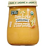 Beech-Nut Just Organic Stage 2 Purees - Banana, Mango & Sweet Potatoes - 4.25 Oz - 10 Pk