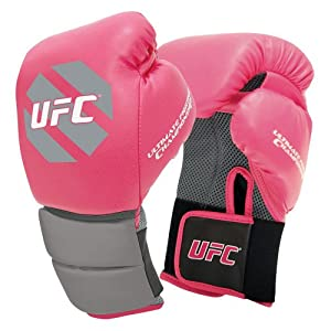 GF UFC Women's Octagon Boxing Gloves - Pink
