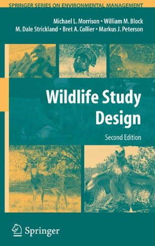 Wildlife Study Design (Springer Series on Environmental...