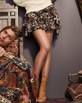 bebe.com : Leopard Ruffles Skirt :  leopard print rufles design silk chiffon