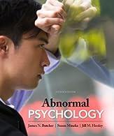 Abnormal Psychology  by Butcher