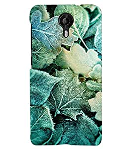 PRINTVISA Abstract Leaves pattern Case Cover for Micromax Canvas Nitro 3 E455::Nitro 3 4G
