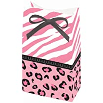 Sweet Safari Girl Favor Bags (12 per package)
