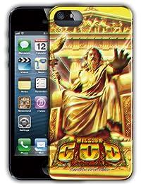 (ミリオンゴッド) パチスロ GOD ミリオンゴッド 神々の系譜ZEUSver. 3Diphone5ケース ゼウス絵柄 (iphone5専用です。) スーパー3Dで絵柄が飛び出る!